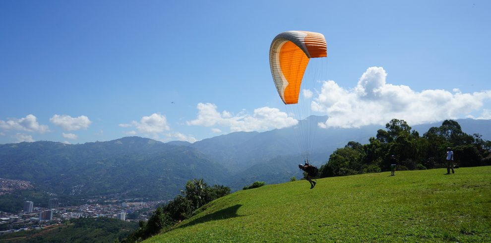 Adventure sports in Nepal: Paragliding