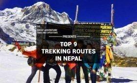 Best Trekking Routes of Nepal