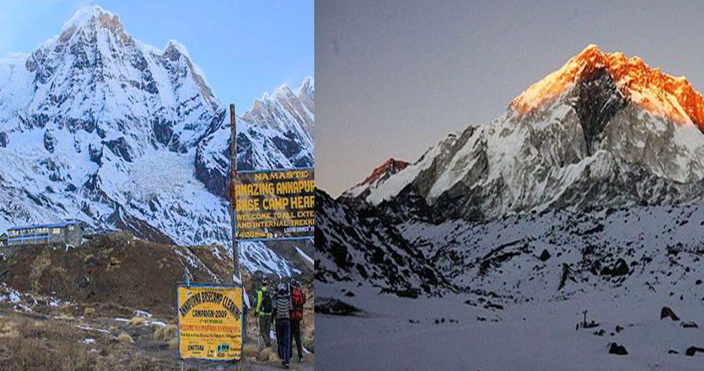 Annapurana vs Everest Base Camp