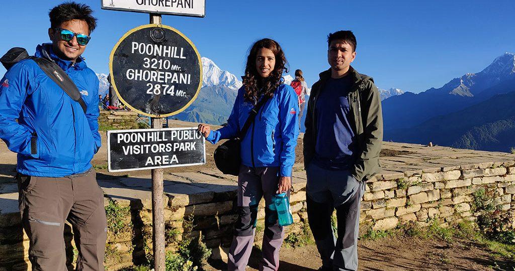 poon hill trek 4 days