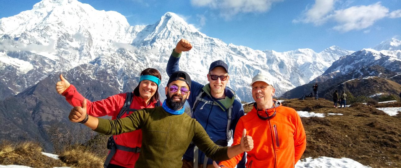 Mardi HImal Trek in Autumn
