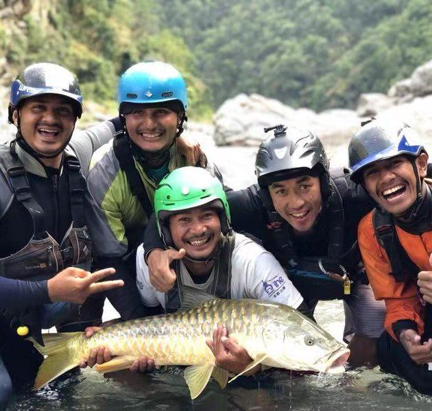 Seti Karnali river fishing